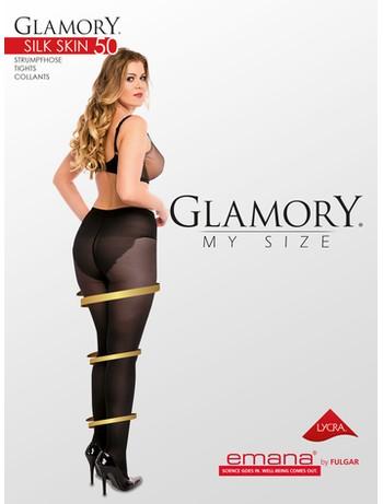 Glamory My Size Silk Skin 50 Feinstrumpfhose