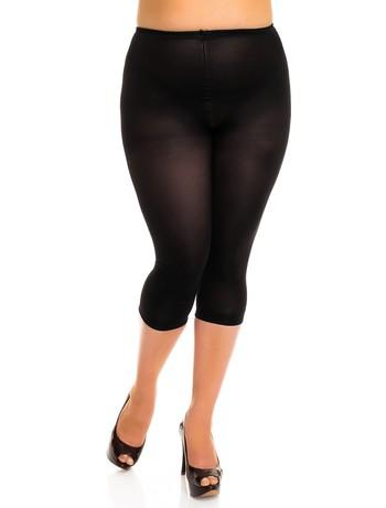 Glamory Velvet 80 - Leggings schwarz