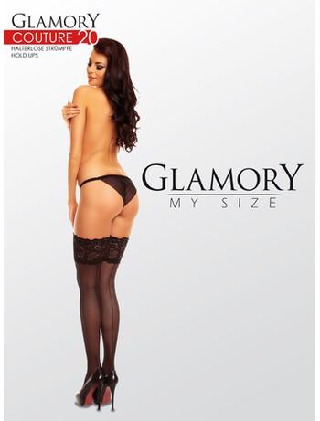 Glamory Couture 20 halterlose Nahtstrümpfe
