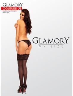 Glamory Couture 20 halterlose Nahtstruempfe