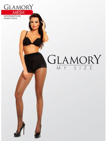 Glamory My Size MeshFishnet Netzstrumpfhose