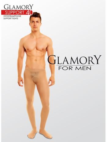Glamory for Men Support 40 Stuetzstrumpfhose, im Nylon und Strumpfhosen Shop