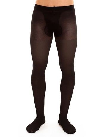 Glamory for Men  Support 40 Stützstrumpfhose schwarz