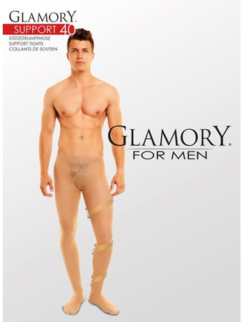 Glamory for Men  Support 40 Stützstrumpfhose