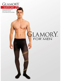 Glamory for Men Support 70 Stützstrumpfhose