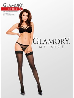 Glamory Dotty 30 halterlose Strümpfe