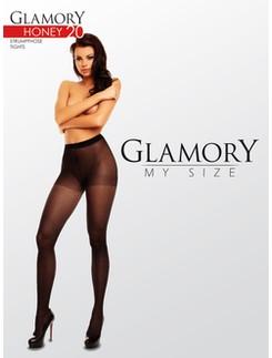 Glamory Honey 20 gemusterte Strumpfhose