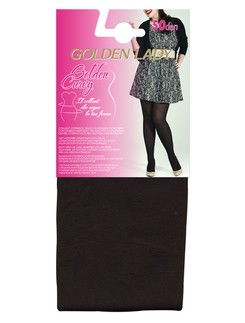 Golden Lady Curvy 50 blickdichte Mikrofaser Strumpfhose