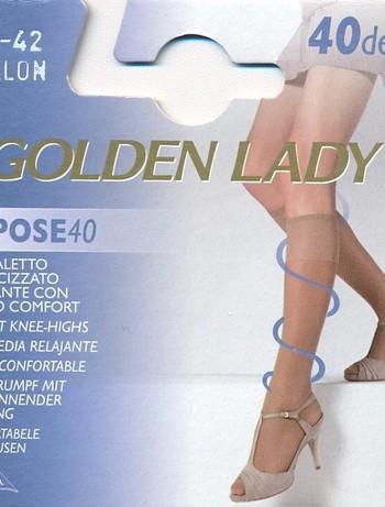 Golden Lady Repose Knee 40 leichte Stuetzkniestruempfe, im Nylon und Strumpfhosen Shop