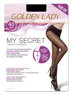 Golden Lady MySecret 40 nahtlose blickdichte Strumpfhose