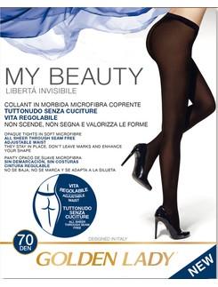 Golden Lady My Beauty 70 nahtlose Strumpfhose
