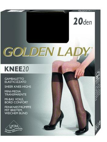 Golden Lady Knee 20 Lycra Kniestruempfe, im Nylon und Strumpfhosen Shop