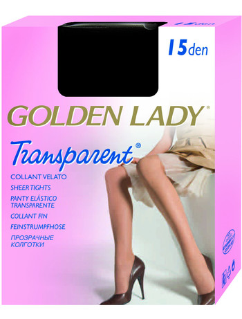 Golden Lady Transparent 15 Feinstrumpfhose, im Nylon und Strumpfhosen Shop