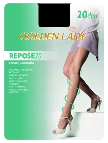 Golden Lady Repose 20 leichte Stuetzstrumpfhose, im Nylon und Strumpfhosen Shop