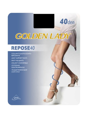 Golden Lady Repose 40 leicht stuetzende Strumpfhose, im Nylon und Strumpfhosen Shop