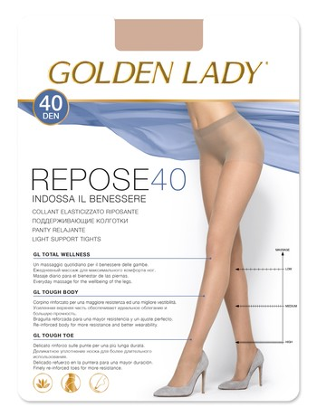 Golden Lady Repose 40 Stützstrumpfhose