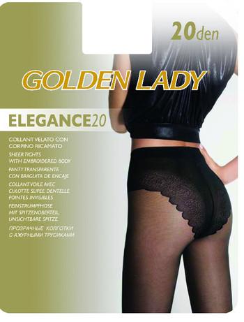 Golden Lady Elegance 20 Feinstrumpfhose mit Bikinislip, im Nylon und Strumpfhosen Shop
