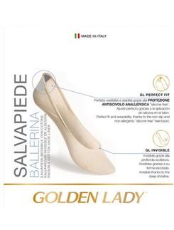 Golden Lady Salvapiede Ballerina Füsslinge 2er Pack