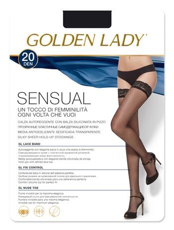 Golden Lady Sensual 20DEN halterlose Strümpfe