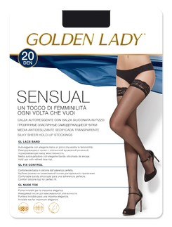 Golden Lady Sensual halterlose Strümpfe