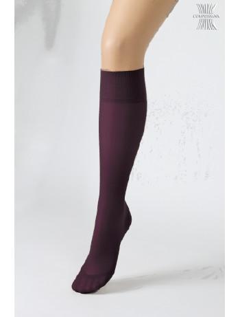 Compressana Calypso 140 Kniestrumpf violet