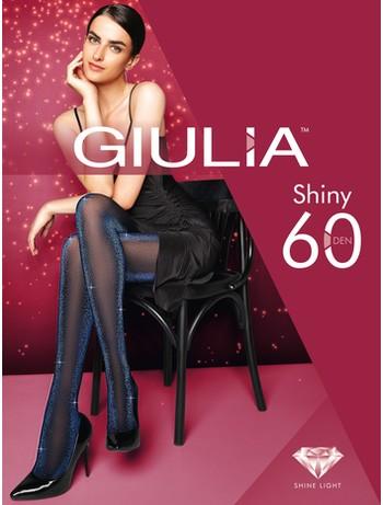 Giulia Shiny 60 Lurex Strumpfhose- Pink Glanz