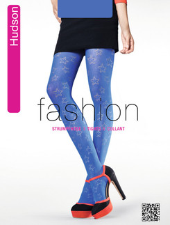 Hudson Fashion Star Net Strumpfhose