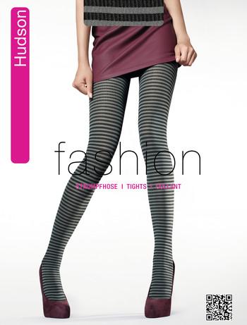 Hudson Fashion Ringlet Rib Strumpfhose, im Nylon und Strumpfhosen Shop