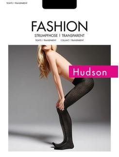 Hudson Damen Ordered Dots Strumpfhose mit Punktmuster