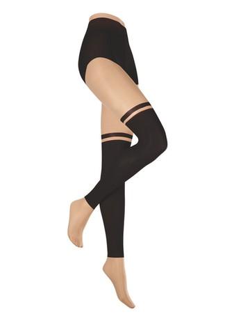 Hudson Sporty Vibes Strumpfhose Overknee-Look Damen skin