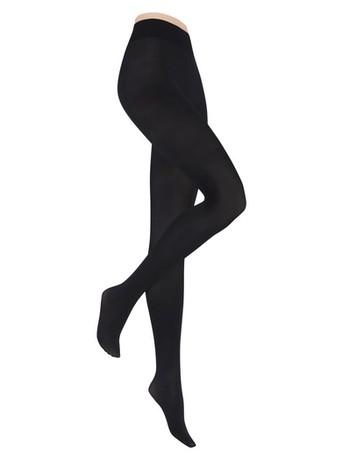 Hudson Damen Micro 50 Shape Strumpfhose schwarz