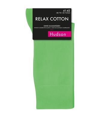 Hudson Relax Cotton Socken ohne Gummifäden Herren