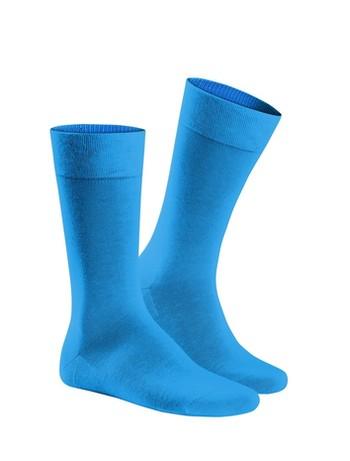 Hudson Relax Cotton Socken ohne Gummifäden Herren Blau-Lagoon