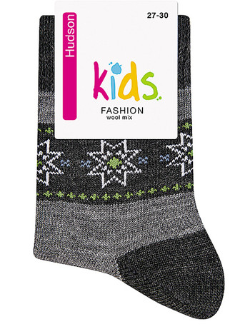 Hudson Kids Fashion Cosy Norwegian Socke, im Nylon und Strumpfhosen Shop