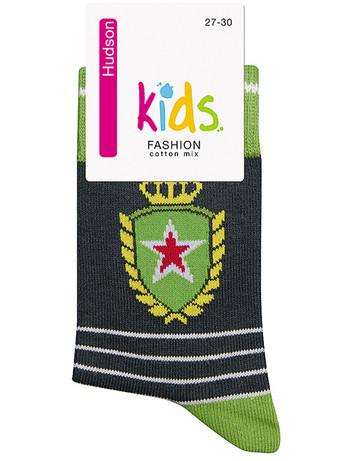 Hudson Kids Fashion Trendy Emblem Socke, im Nylon und Strumpfhosen Shop