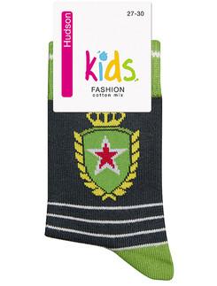 Hudson Kids Fashion Trendy Emblem Socke