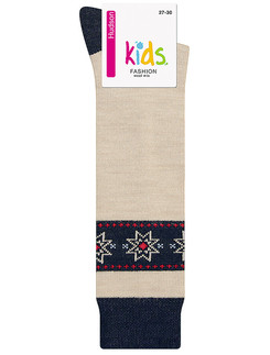 Hudson Kids Fashion Cosy Norwegian Kniestrumpf
