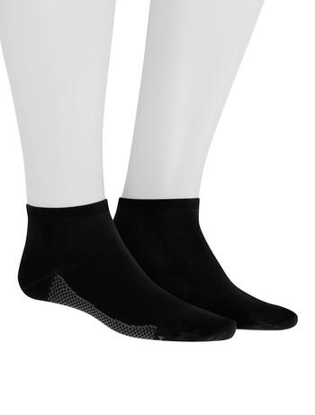 Hudson Relax Cotton Dry Herren Sneakersocken schwarz