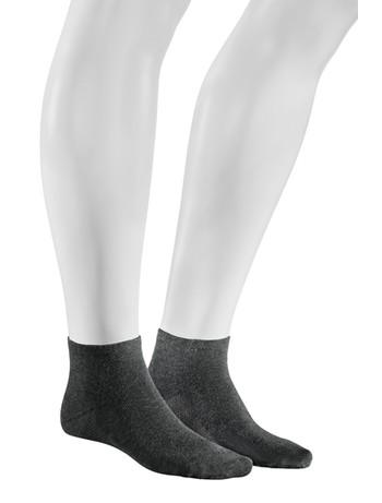 Hudson Relax Cotton Dry Herren Sneakersocken graumeliert