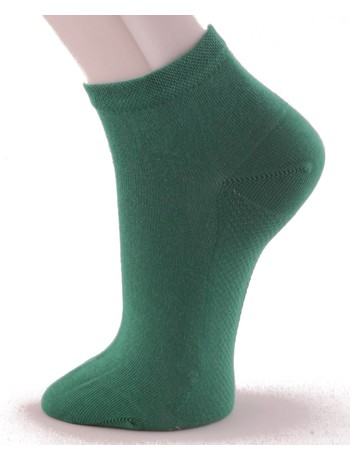 Hudson Relax Cotton Dry Herren Sneakersocken green-glass