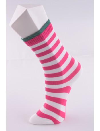 Hudson Smart Stripes Damensocken, im Nylon und Strumpfhosen Shop