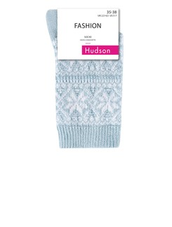 Hudson Modern Norway Strick-Socken mit Norweger-Muster