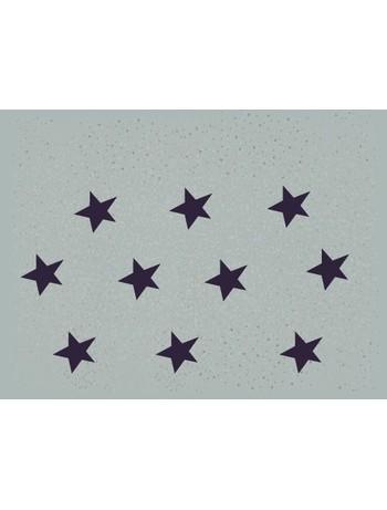 Hudson Bright Stars Sternchen Kurzsocke Perle-Blau