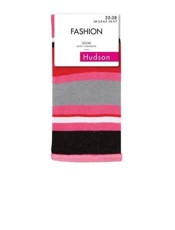 Hudson Fancy Ringlets Socken mit Rollrand