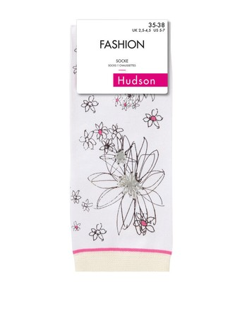 Hudson Flowers For You Socken