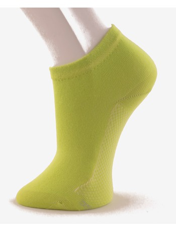 Hudson Relax Cotton Dry Sneakersocken green-lemon