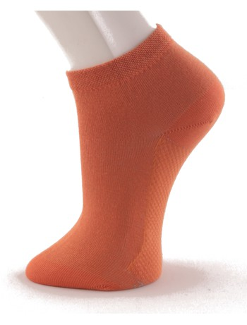 Hudson Relax Cotton Dry Sneakersocken tangerine