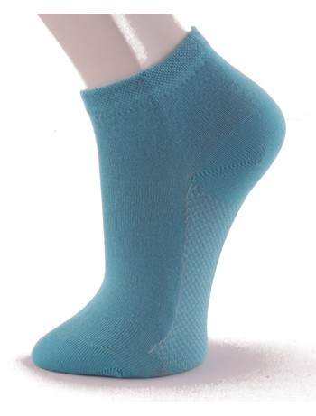 Hudson Relax Cotton Dry Sneakersocken atlantic