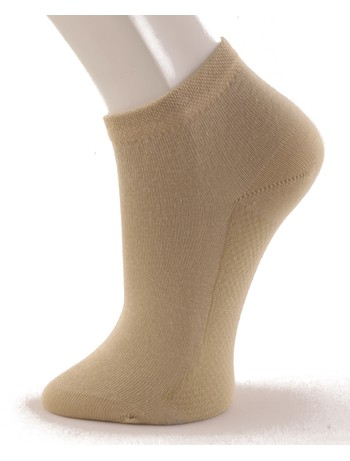 Hudson Relax Cotton Dry Sneakersocken sisal