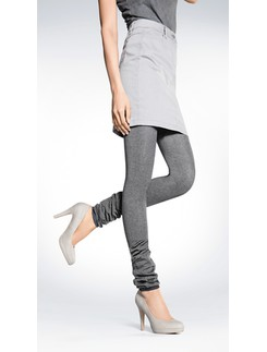Hudson Vernal Streifen Leggings schwarz weiß